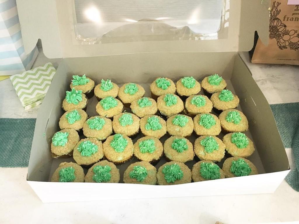 Cactus cupcakes!!! Aghhhh!
